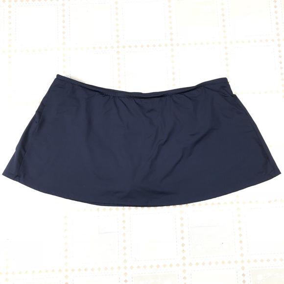 d4c0acba7fda0 Catalina Other - CATALINA Large 12 14 Navy Blue Swim Bottom Skirt